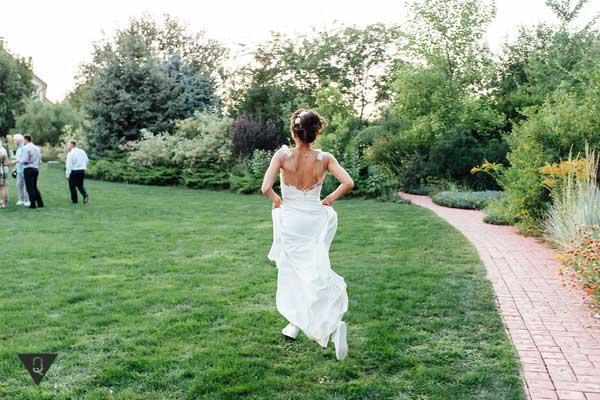 невеста убегает со свадьбы