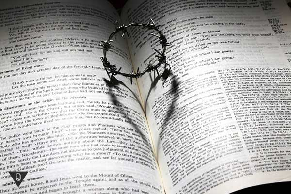 В книге терновый венок
